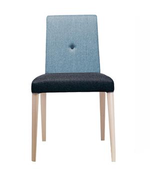 صندلی پایه چوبی پونتو