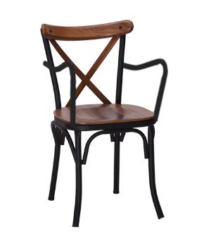صندلی دسته دار تونت