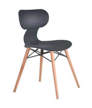 صندلی یوگو پایه چوبی