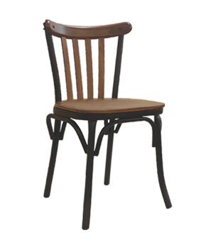 صندلی بدون دسته فلزی برسو