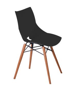 صندلی شل پایه چوبی