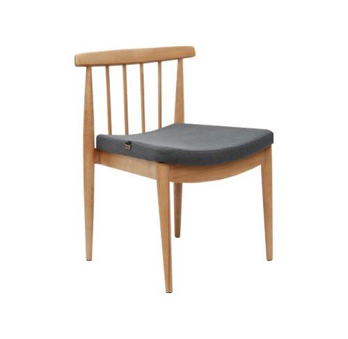 صندلی بدون دسته لونا چوبی