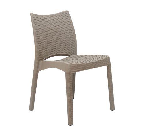 صندلی بدون دسته بامبو
