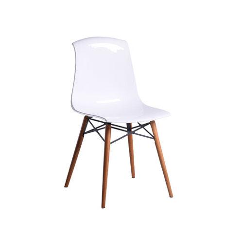 صندلی آلگرا پایه چوبی
