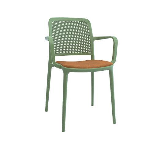 صندلی دسته دار مونیکا با تشک